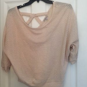 Charlotte Russo knit top size medium